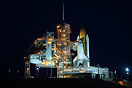 "Space shuttle orbiter ""Endeavour"" is prepped for her last mission,STS-..."