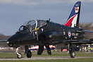 Very nice visitor to Linton was this Special paint scheme Navy Hawk XX...