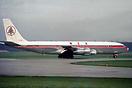 On lease from British Eagle G-ATZD.