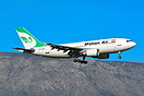 First ever arrival of Mahan Air in Athens, on a charter flight.