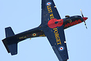 Recently out of the paint shop the 2014 RAF Display scheme Tucano
