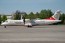 Second ATR for Etihad Regional seen arriving after repaint at Ostrava,...