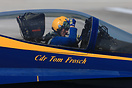 The 2014 US Navy Blue Angels Flight Demonstration leader Commander Tom...