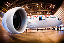 The first Boeing 787 Dreamliner for Air Canada