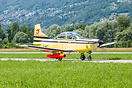Target tow aircraft of the Swiss AF