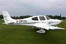 This Cirrus SR-22GTS 2-OFUS is the 3rd aircraft to be placed on the ne...