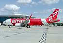 First aircraft for AirAsia India.
