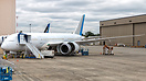 Xiamen Airlines' first B787-8 Dreamliner out of the factory.