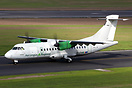 "Small ""Operated By Stobart Air"" titles recently added near rear door"