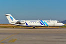 Delivery flight of this Myanmar-based airline's FMI Air first CRJ-200 ...