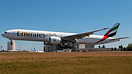 Fresh out of paint Emirates Boeing 777-31H(ER) C/N 41365 L/N 1220 retu...