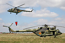 Mi-17V-5 08 yellow, as 14 yellow returns with a Bambi Bucket fire-figh...