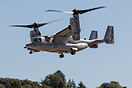 One of two V-22 Osprey's visiting Marine Week in Seattle. 168328 belon...