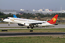 Grand China Express name was changed to Tianjin Airlines in June 2009.