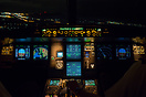 Coming around the corner on the curved RNP approach onto Runway 15 in ...