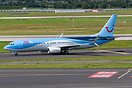 One of the first German TUIfly 737 in the blue TUI group scheme, with ...