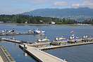 The Harbour Air seaplane terminal at Vancouver
