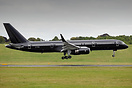 Recently registered to TAG Aviation (UK) Ltd., this all-black 757, yet...