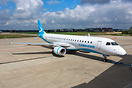 New livery and first E190 for Australian Cobham Aviation - Former Augs...