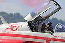 The Patrouille Suisse celebrated their 50th anniversary at Payerne Air...