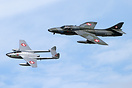 With Hawker Hunter HB-RVW