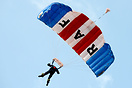 The RAF Falcons parachute team