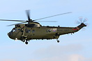 Royal Navy Sea King here seen at RAF Leeming