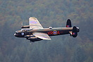 The last two airworthy Avro Lancasters in the world performed a flypas...