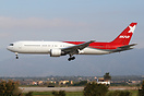 Another Boeing 767 subleased from Nordwind by Ikar still in basic Nord...