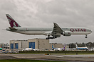 New Qatar Airways Boeing 777-3DZ(ER) C/N 60330 L/N 1244 A7-BED in test...