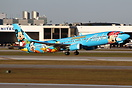 Alaska Airlines Spirit of Disneyland colour scheme.