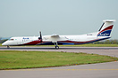 New aircraft on delivery to Arik Air stopped at East Midlands for fuel...