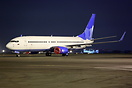 New start up airline which operates under the name Pobeda (Victory) a ...