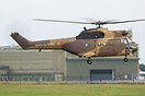 Special paint scheme French Army Puma on Ex at Dishforth