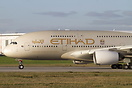 The first Airbus A380 of Etihad Airways in full livery.