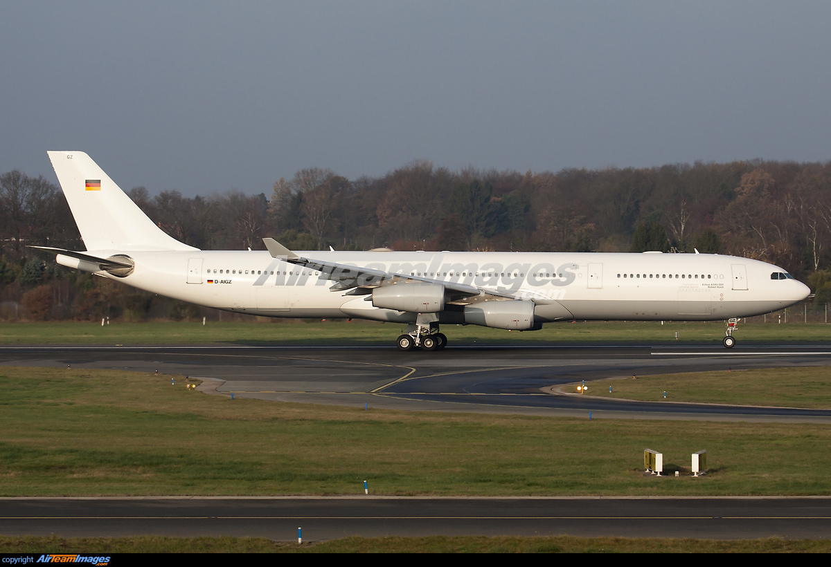 Airbus A340 313x Large Preview Airteamimages Com