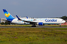 """Ja zu FRA"" special color Condor Boeing 767 D-ABUZ departing from FRA ..."
