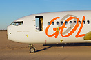 Nose section of a broken up GOL Boeing 737 PR-GOF in Victorville