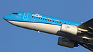Painted in the new KLM livery