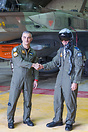 The opening ceremony of the Israeli and Greek air forces joint exercis...