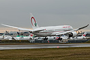 The first Royal Air Maroc Boeing 787-8 Dreamliner took to the air Dece...