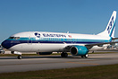 Eastern Air Lines welcomed the first aircraft in Easterns fleet, a Bo...