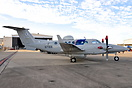 Beechcraft 350 N716A parked up in the static area at the NAS Jacksonvi...