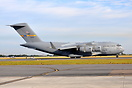 C-17 10-0213 belonging to the 437TH, 315TH AW at Charleston arriving a...