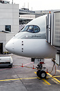 Arrival of the first scheduled flight of an A350 world-wide. Aircraft ...