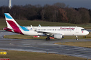 The first A320 in the new livery for Eurowings. They will exchange the...