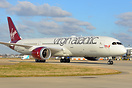 "Virgin's brand new 787 G-VOOH ""Miss Chief ""on its delivery flight from..."