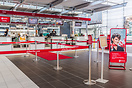 Air Berlin check-in counter.