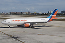 The first fully owned Airbus A300 for Transcarga in a revised livery