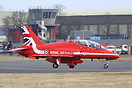 New paint scheme for the Red Arrows for 2015.